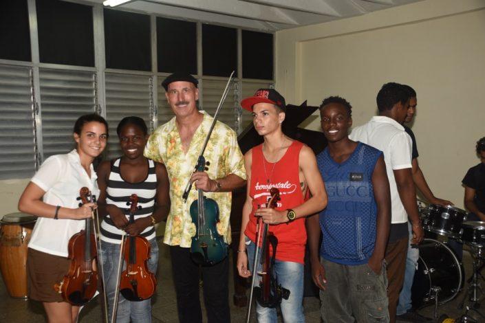 Master Class at La Escuela De Artes-Havana