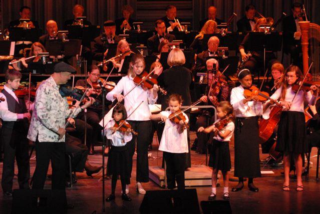 Charlotte Symphony with Suzuki Kids