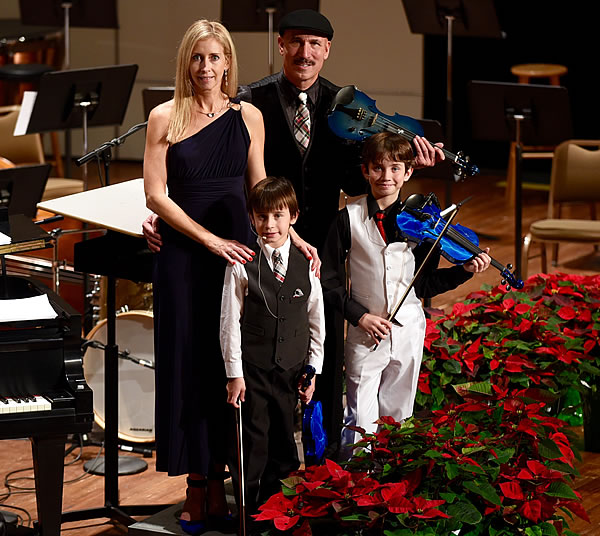 Doug, Juliette, Alex & Sean with The Albany Symphony